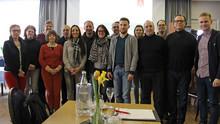 Delegierte und stellvertretende Delegierte des IG Metall-Pendlerortes Braunschweig