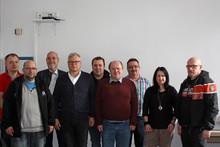 v.l.n.r.: Christian Schupik, Renè Schwaneberg, Andreas Hoppenbrink, Lothar Ewald, Kolja Mühe, Oliver Volmer, Frank Michael Hüsing, Melanie Weber, Reinhard Sachse
