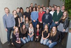 Der Ortsjugendausschuss der IG Metall Wolfsburg