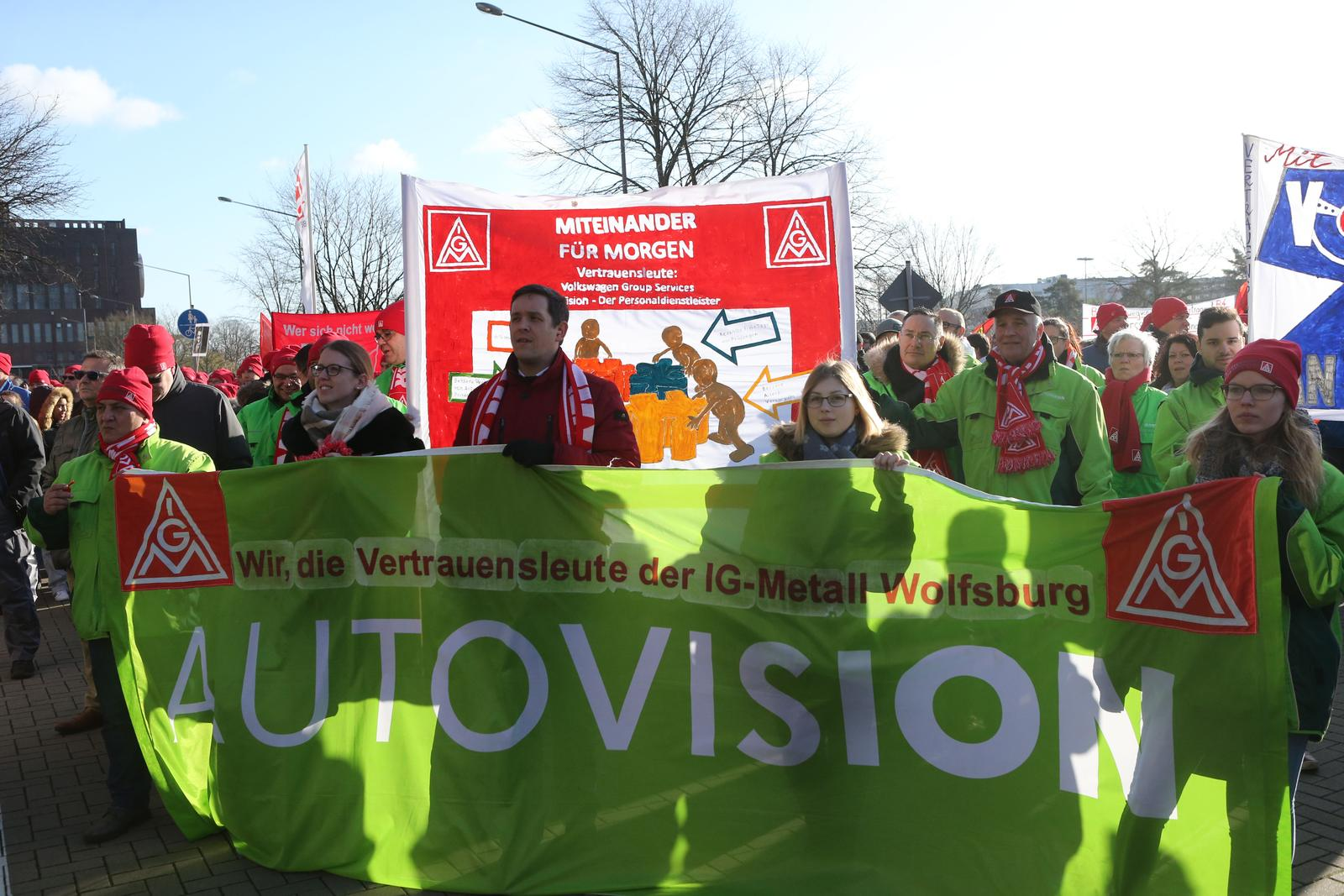 Dritte Verhandlung Bei Den Volkswagen Töchtern Steht An Ig Metall